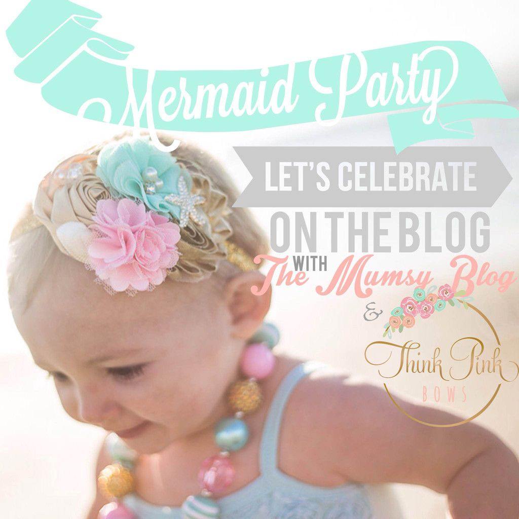 Mermaid Birthday Outfit Mermaid Baby Headband Bow 1st Birthday Mermaid Mermaid Baby Headband I/'m Really a Mermaid Mermaid Baby Bow