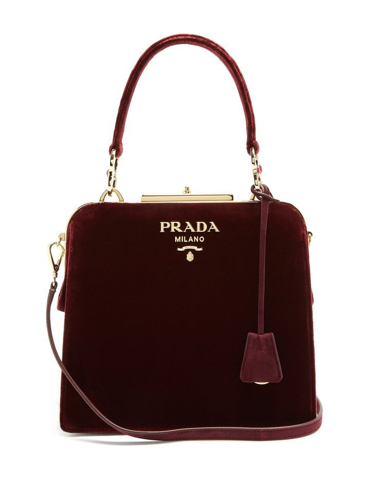 Photo of Click here to buy Prada Frame velvet bag at MATCHESFASHION.COM – Tote Bag Collections