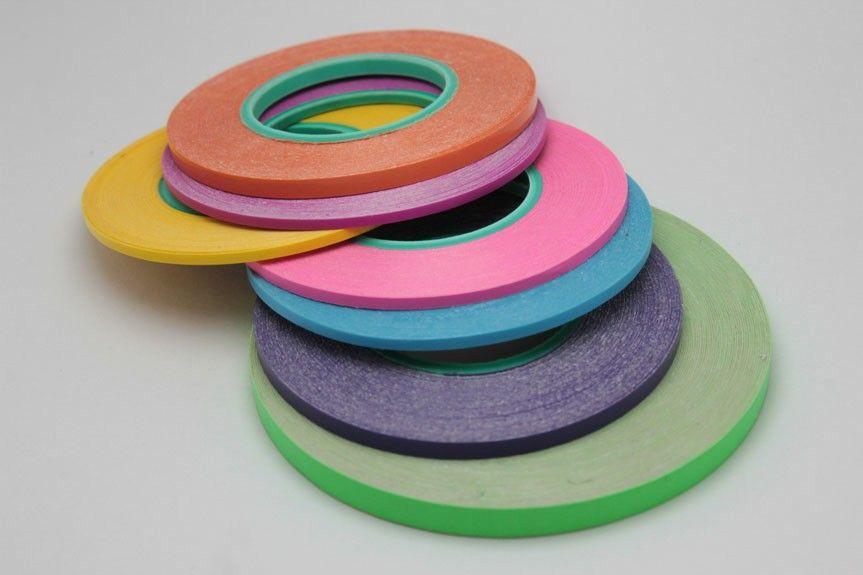Cinta Adhesiva De Colores En Milimetros De 1mm A 10mm Cinta