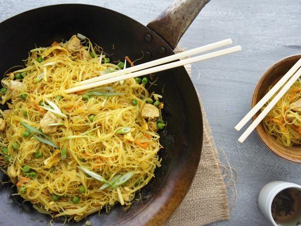 Singapore noodles recipe chinese restaurant restaurants and noodle singapore noodles forumfinder Images