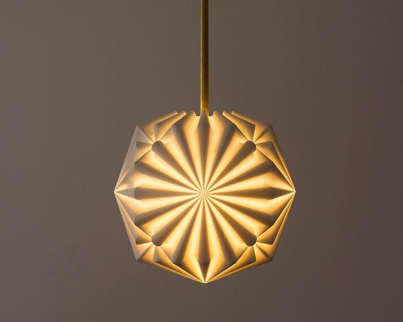 Robert Debbane S 3d Printed Lamps At New York Design Week Lamp Pendant Lamp Design Ceiling Mounted Light