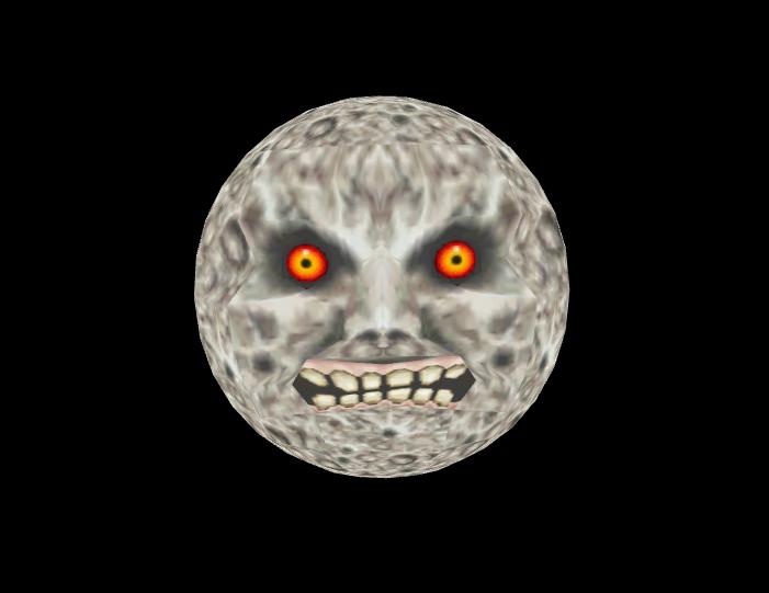 Majoras Mask Moon Majoras Mask Moon Majoras Mask Moon Art