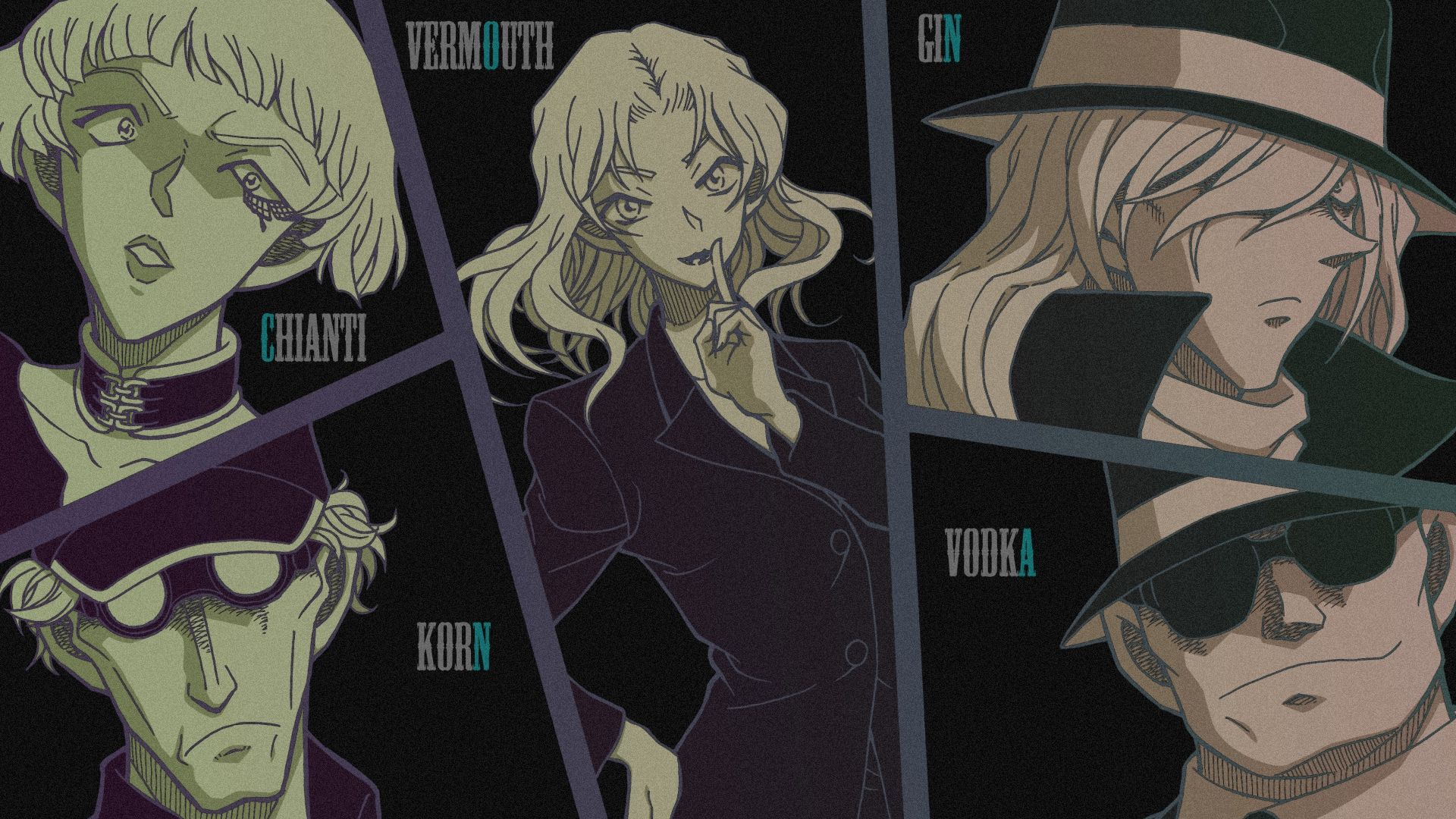 black organization (Có hình ảnh) Anime
