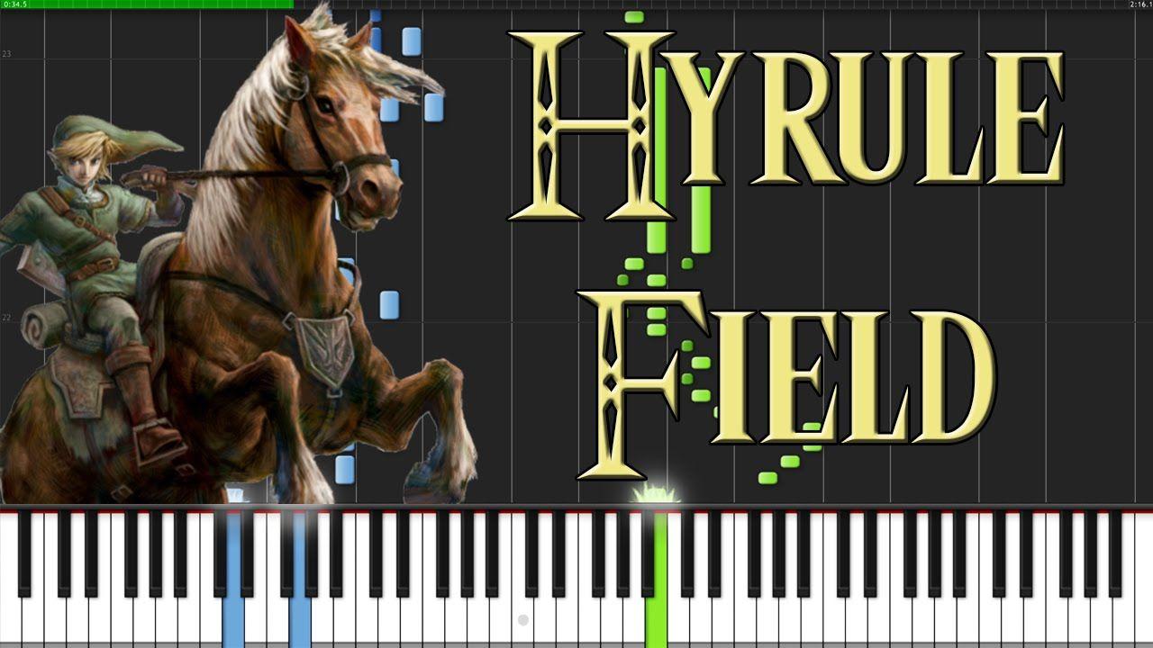 Hyrule Field The Legend Of Zelda Twilight Princess Piano Tutorial Learn Piano Songs Piano Tutorial Piano Songs