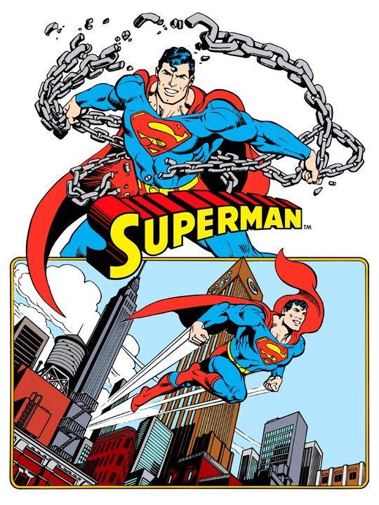 Superman from 1982 DC Comics Style Guide by José Luis García-López