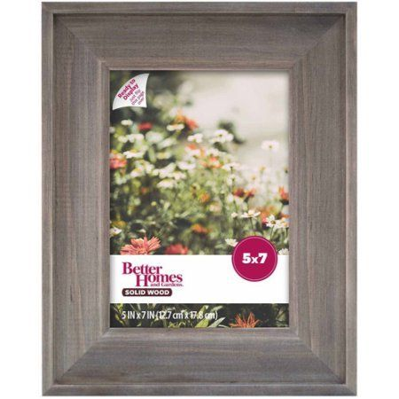 Better Homes And Gardens 5x7 Gallery Frame Rustic Wood Find Out