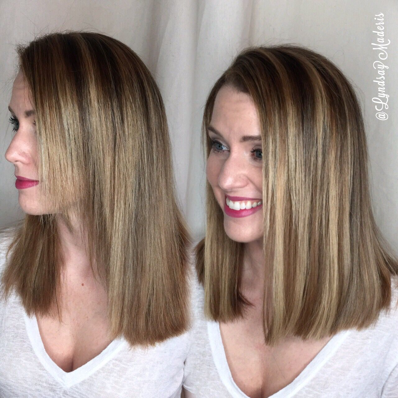 Correcting Haircut To Create Ultimate Lob With Goldfeverhair Hair