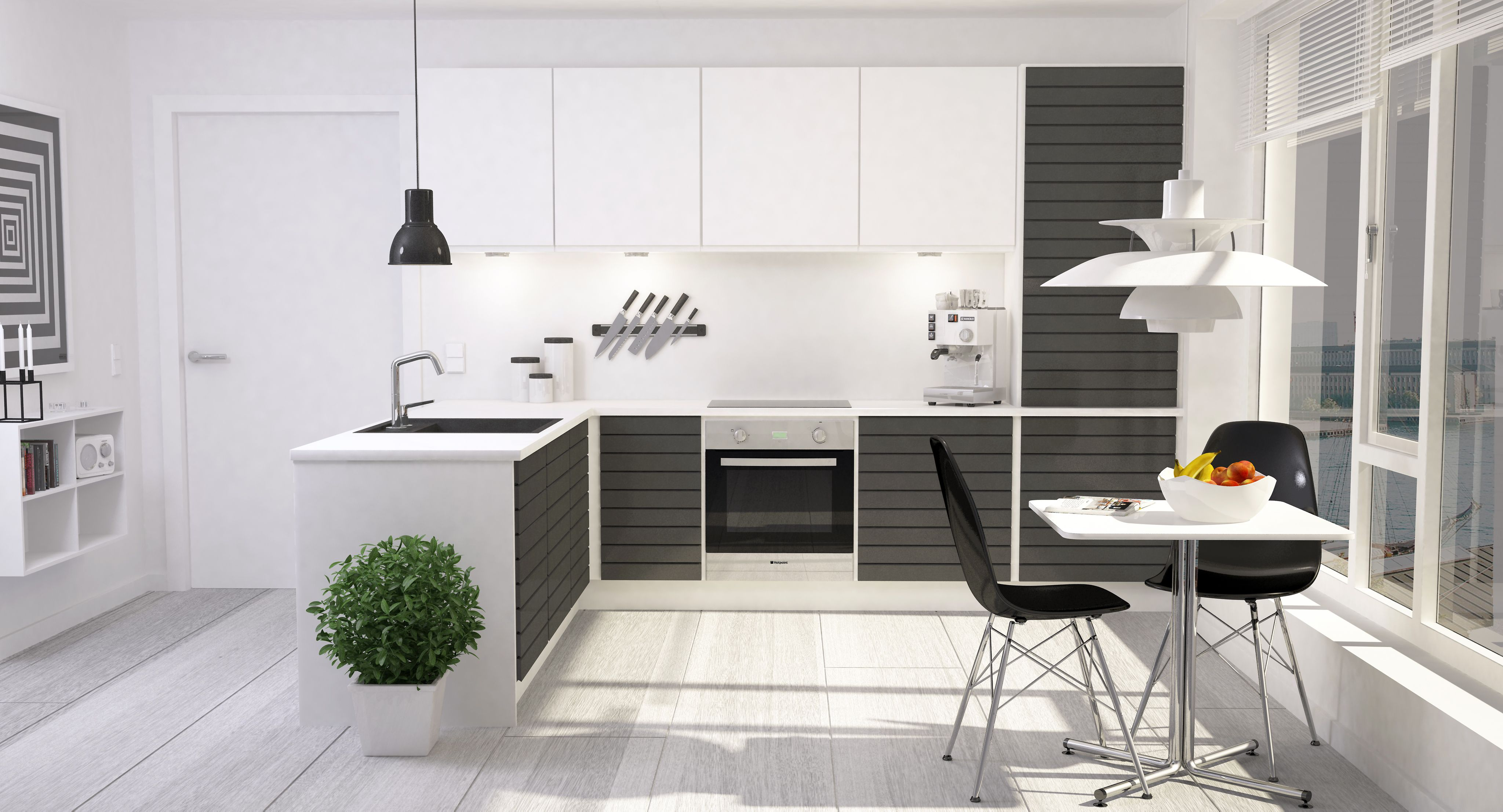 super modern and clean is always an option | Interior Design Ideas ...