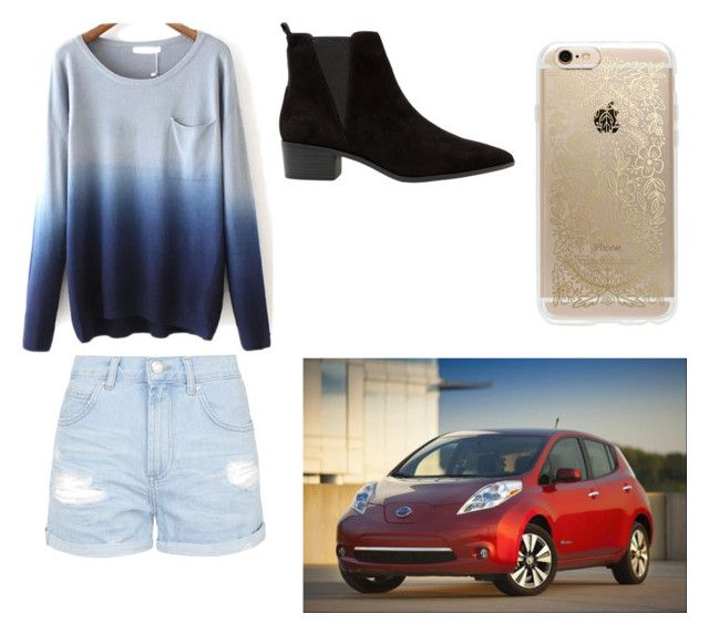 """""""In my car, listening to loud music"""" by leila-hussain on Polyvore featuring Topshop, MANGO and Rifle Paper Co"""