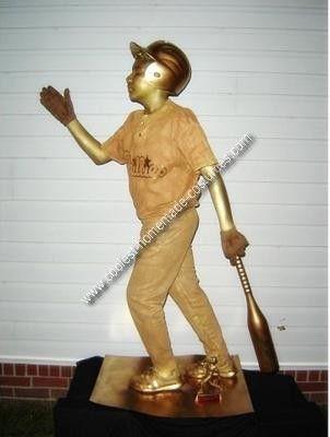 Homemade Baseball Trophy Costume | Halloween | Pinterest | Costumes