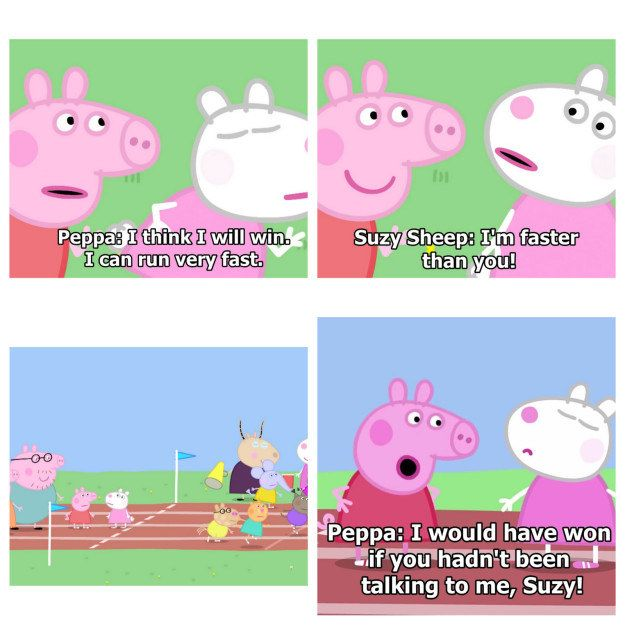 17 Times Peppa Pig Was Just An Absolute Savage #peppapig
