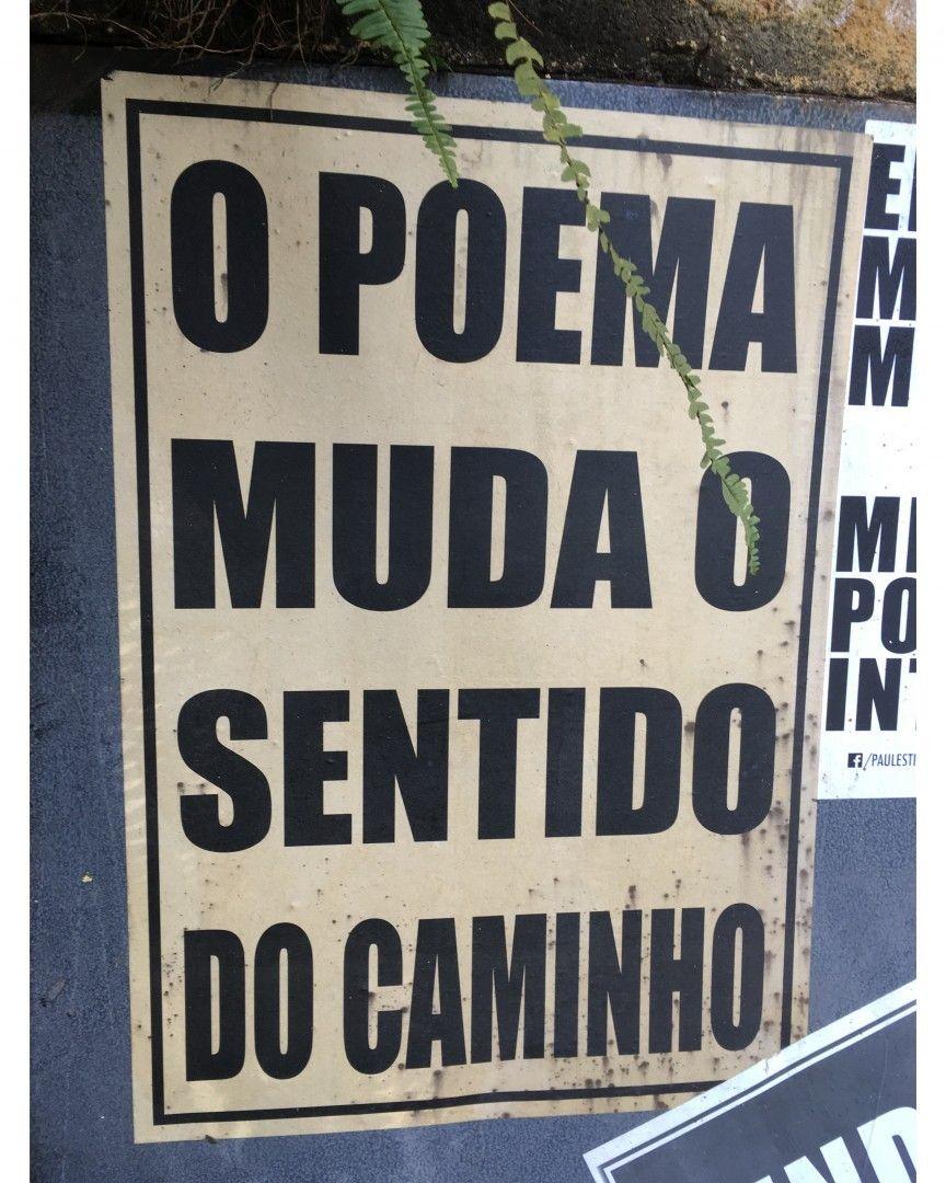 Escreva aí um trecho do seu poema favorito #ViNoCatraca #Poemas