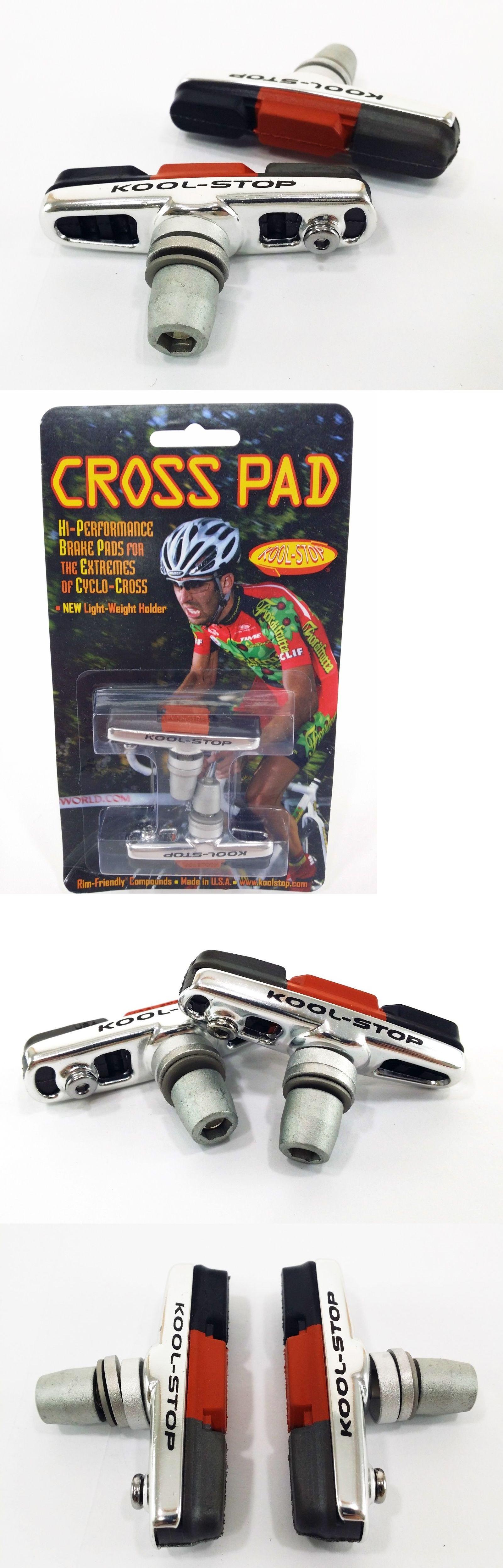 Kool-Stop Dura2 Cross Pad Threaded Cyclocross Triple-Compound Bike Brake Pads CX