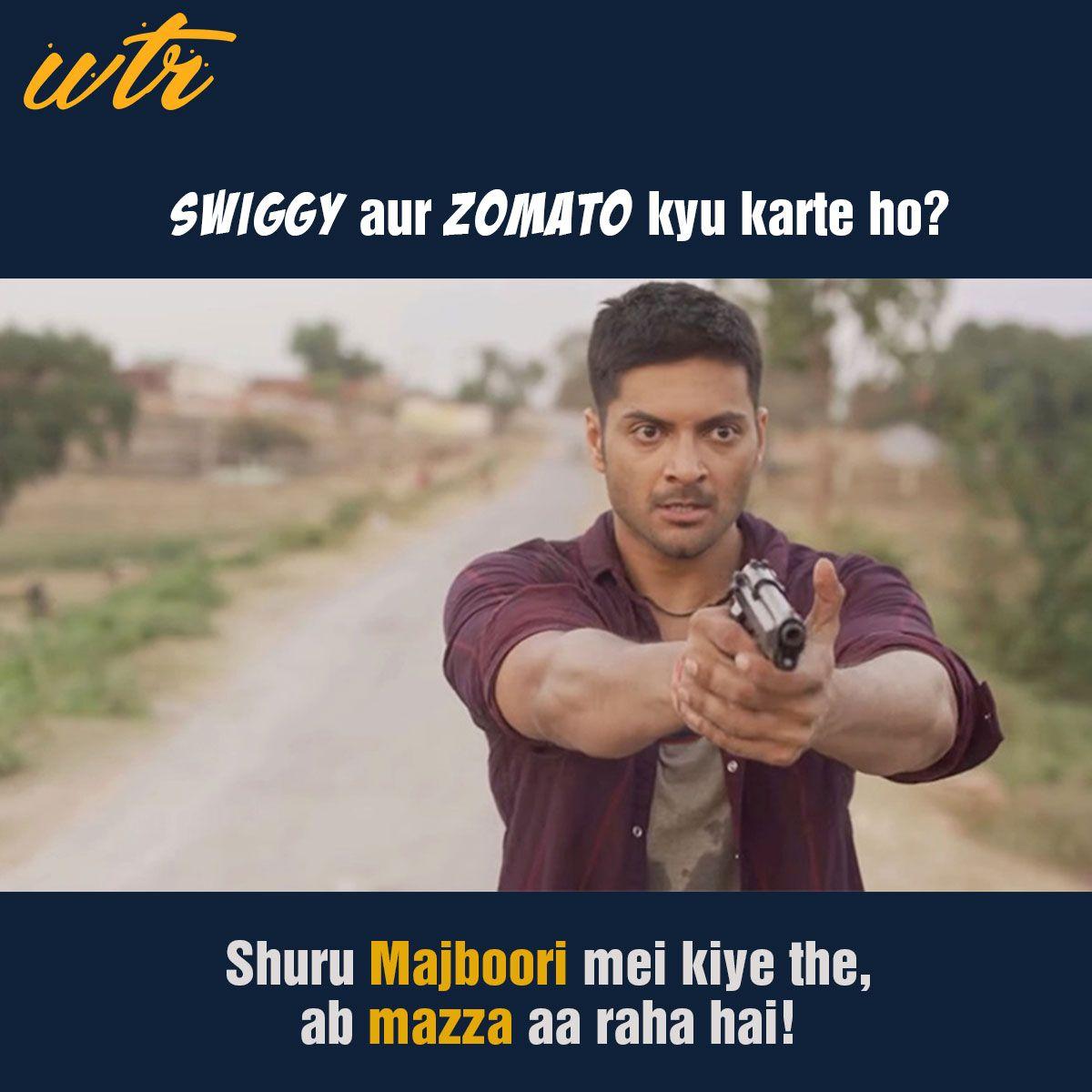 Swiggy Zomato Wala Mirzapur Memes Sarcastic Stupid Funny Memes Food Memes