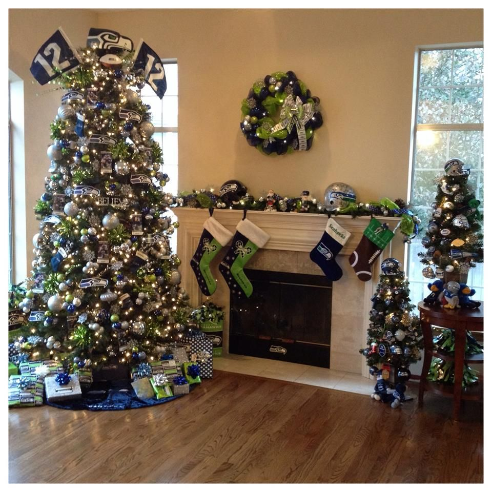 It's a Seahawk Christmas. If all my family loved the Seahawks this ...