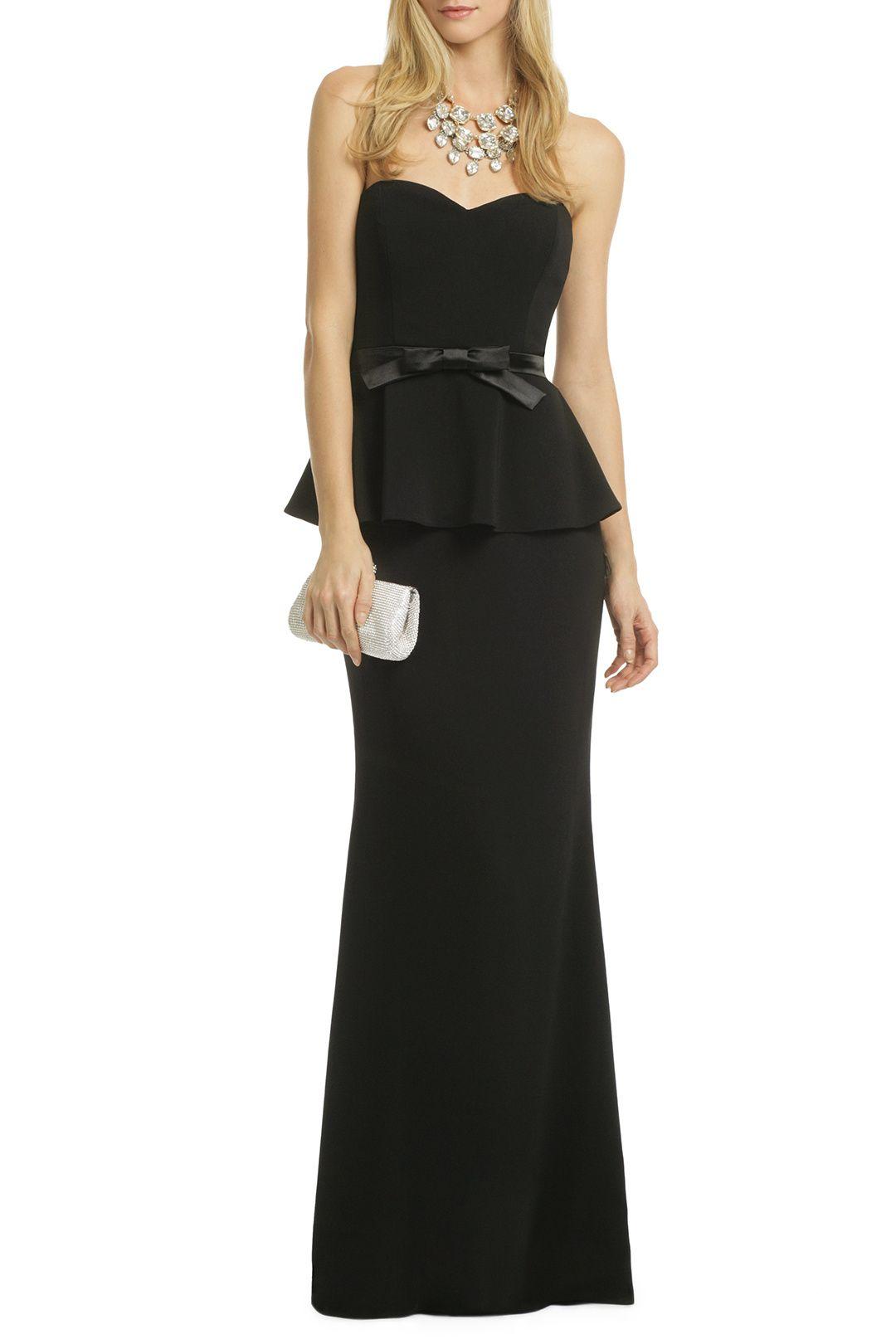 Rosalind Peplum Gown   Gala ideas   Pinterest   Peplum gown, Badgley ...