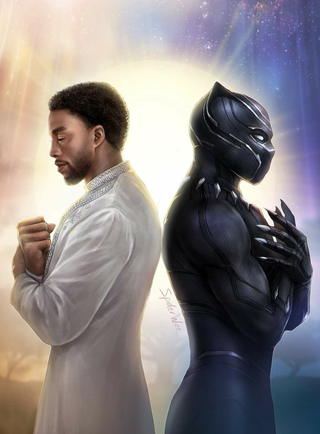For Chadwick Boseman in 2020 Marvel superheroes, Black