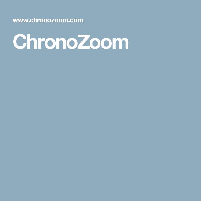 ChronoZoom