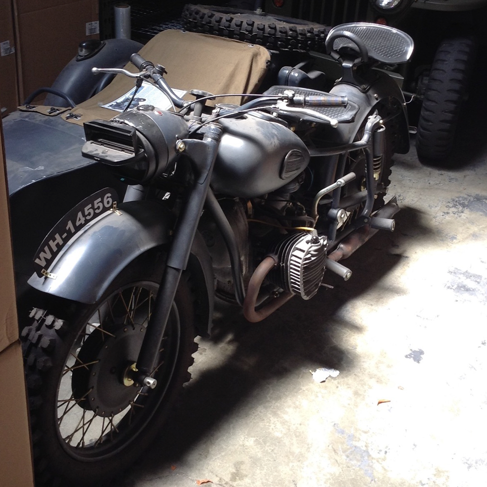 Russian ural motorcycle w side car bmw in 1940 the for Planet motors on military