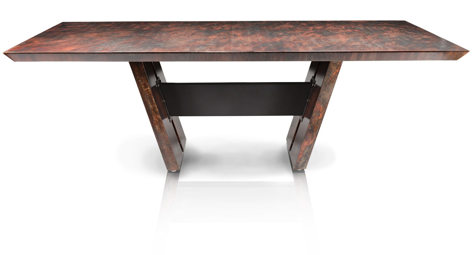 90 Metal All Dining Table By Oios Metals Can Be Made To