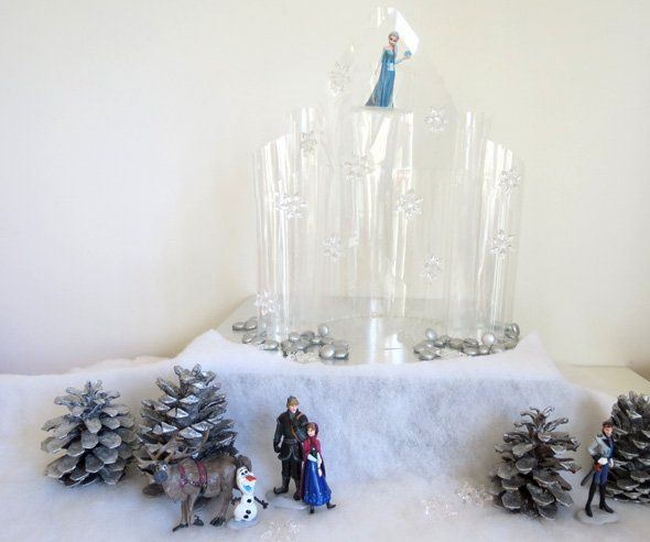Disney Frozen DIY Ice Castle