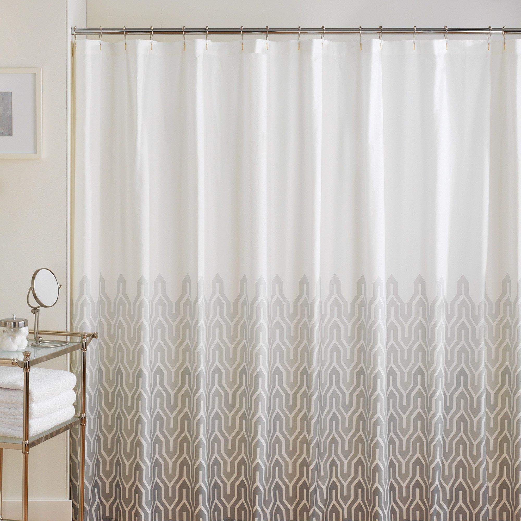 Jill rosenwald plimpton flame shower curtain pearl decor