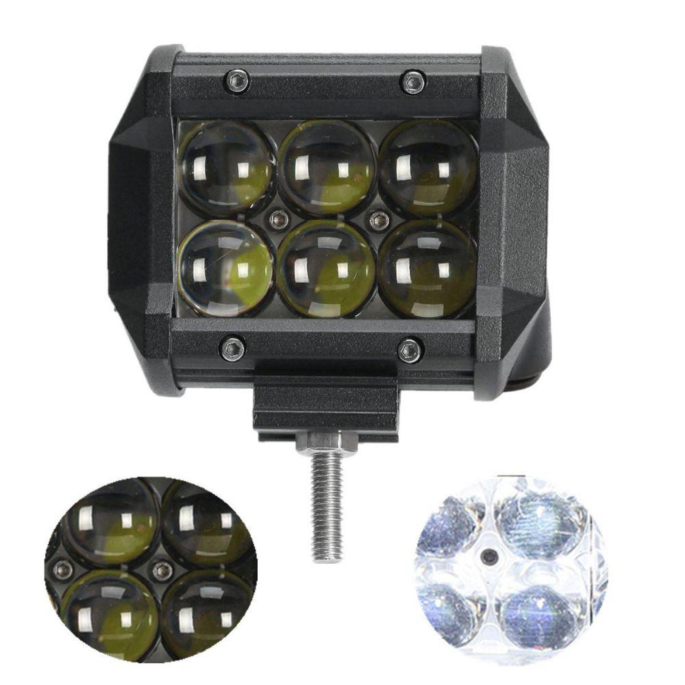 "6/"" Off-Road Projector LED Work Driving Light Bar Spot Fog Lamp Truck Jeep ATV"