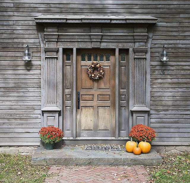Fall - Deerfield Mass & Deerfield door (1) | Doors Gates and House