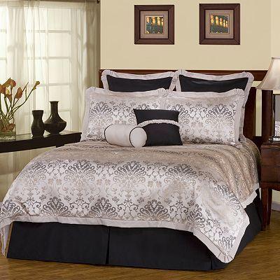 KohlsCello 8-pc Damask Comforter Set Bedroom Pinterest