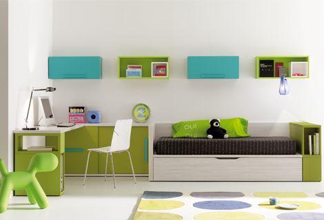 Habitaciones juveniles de La Oca | Pinterest | Escritorios ...
