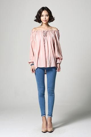 Off-shoulder Blouse NB-S