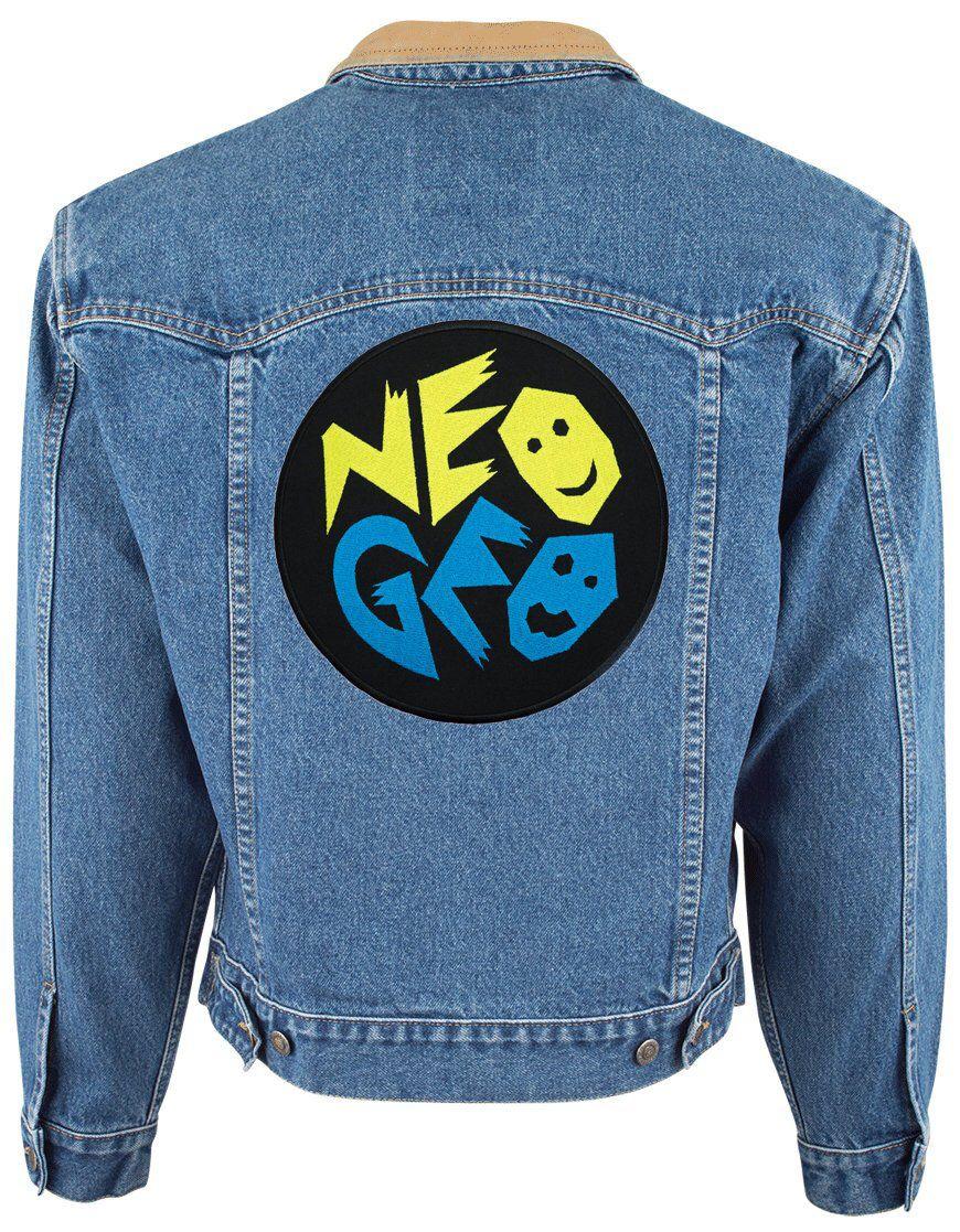 Zimmer im mexikanischen stil embroidered big back patch snk neo geo badge logo iron on sew on