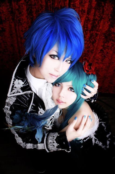 Kaito e Hatsune - Vocaloid