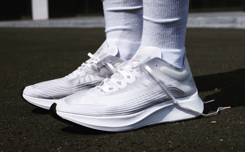 b94f3c71fd9b0 A First Look At The Nike Zoom Fly SP In Triple White