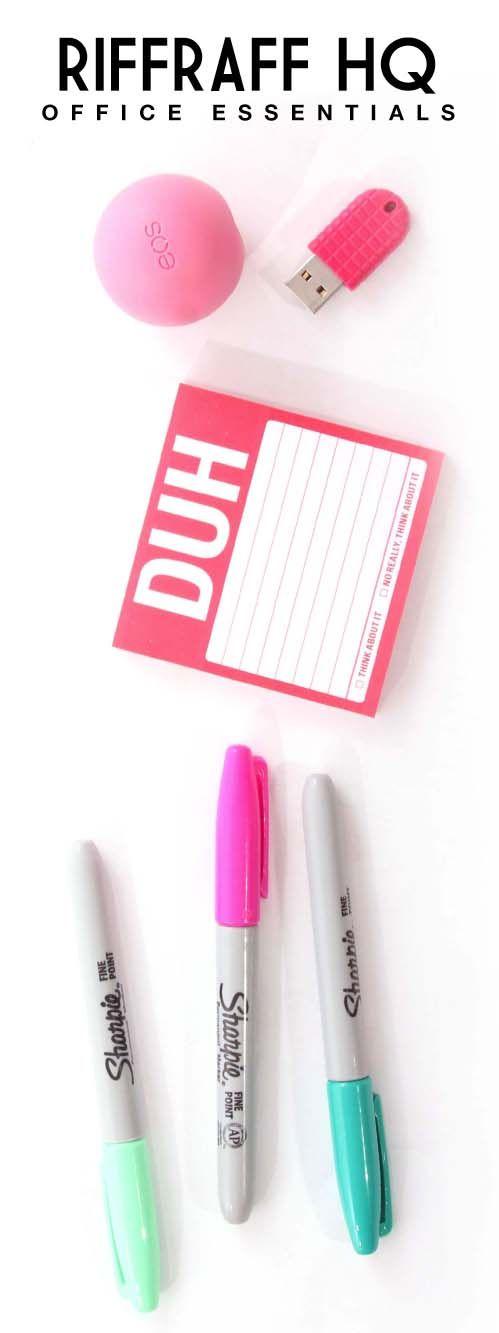 working girl essentials! #riffraffhq #behindthescenes