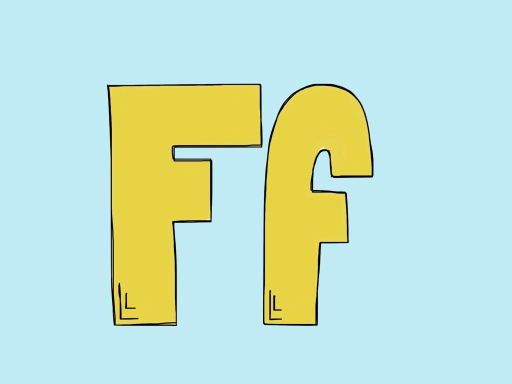 Letter Ff Video To Teach The Letter Ff Teaches Letter
