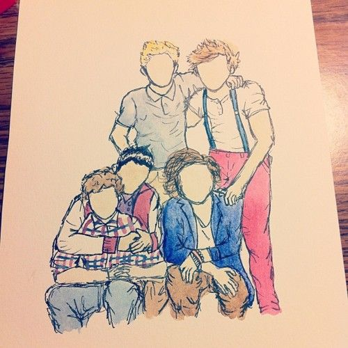 Images For - Tumblr Drawings One Direction