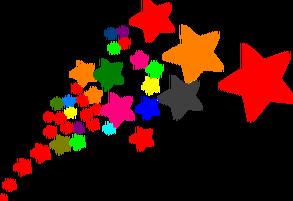 Avon Dream Big Team Recognition Star Clipart Clip Art Shooting Star Clipart