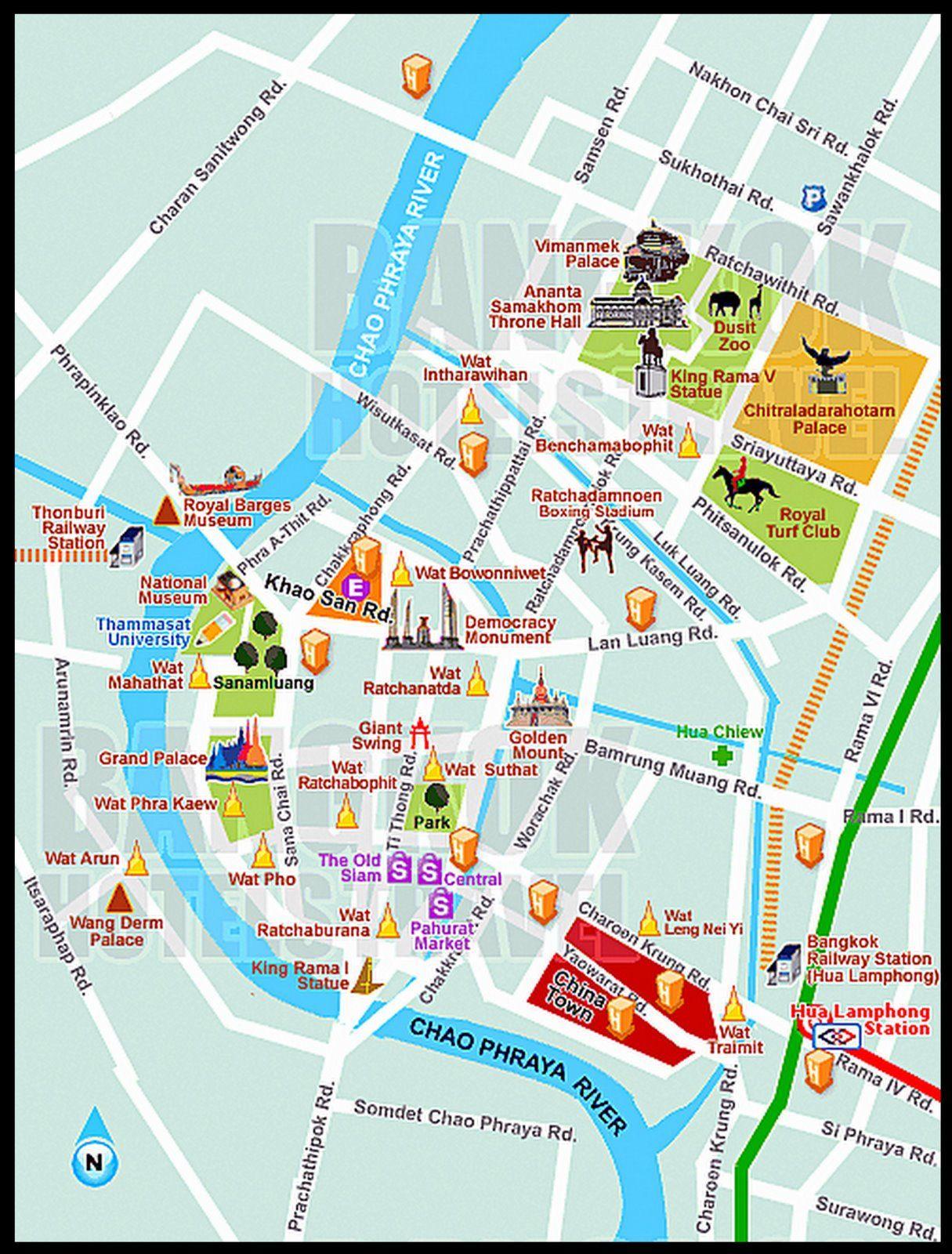 City Walking Tours | Tourist Venue and Attractions | Bangkok tourist ...