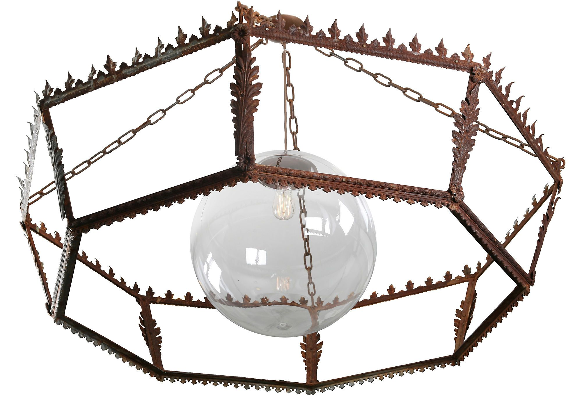 Architectural Fragment Chandelier - One Kings Lane - Vintage & Market Finds - Lighting