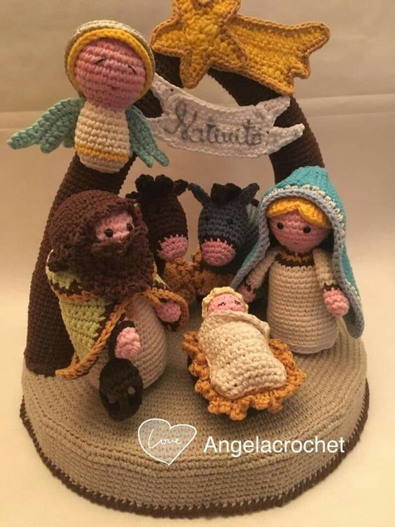 Pin von Colleen Weber auf finger puppets crochet | Pinterest ...