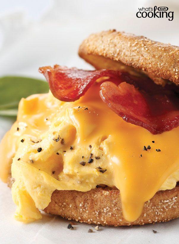 Grab-and-Go Breakfast Sandwich #recipe