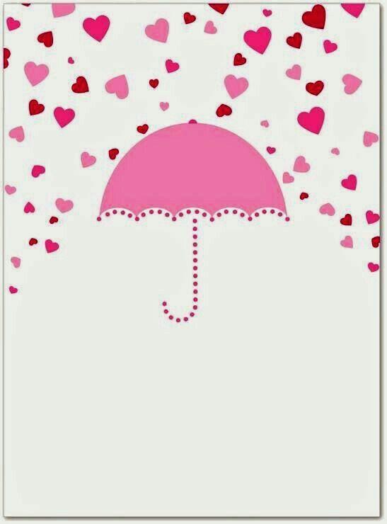 Pin De Shirley Em Drawings Convites Chuva De Amor Chuva De Amor