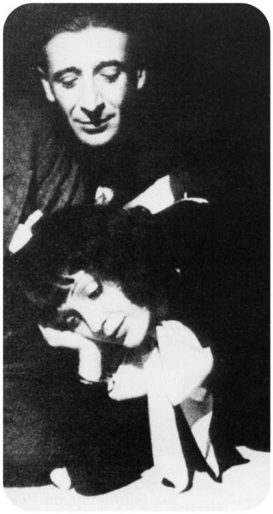 """vintageretroblog: """" Pygmalion et Galatée Edith Piaf et Raymond Asso """""""