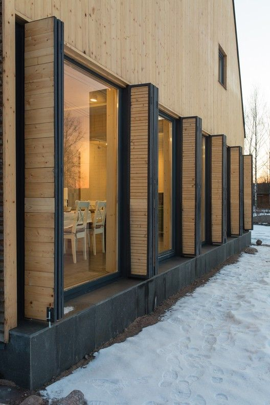 Gallery of House in Pribylovo / AB CHVOYA - 3 Pinterest House - fenetre pour maison passive