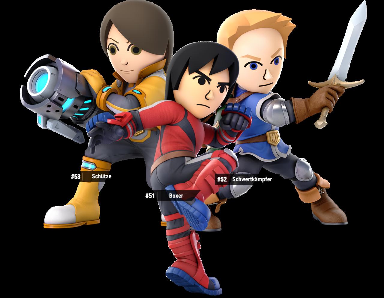 Mii Fighters in Super Smash Bros  Ultimate | Games | Super smash