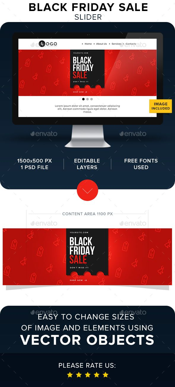 black friday sale slider template psd sliders features templates