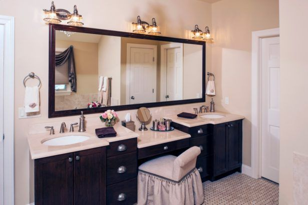 design bathroom black with vanities area mirror wonderful small vanity medium ceiling sink gray ideas size sitting seating floating