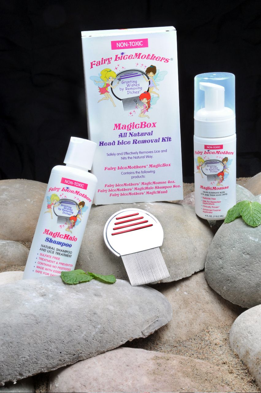 Fairy LiceMothers has all the products you need to remove a lice
