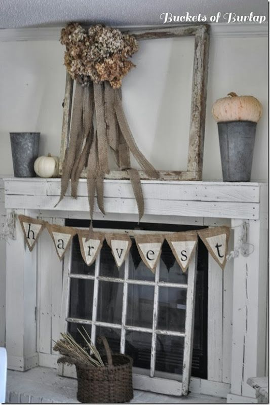 Nice idea for unused fireplace could probably do candles - Ideas to cover fireplace opening ...
